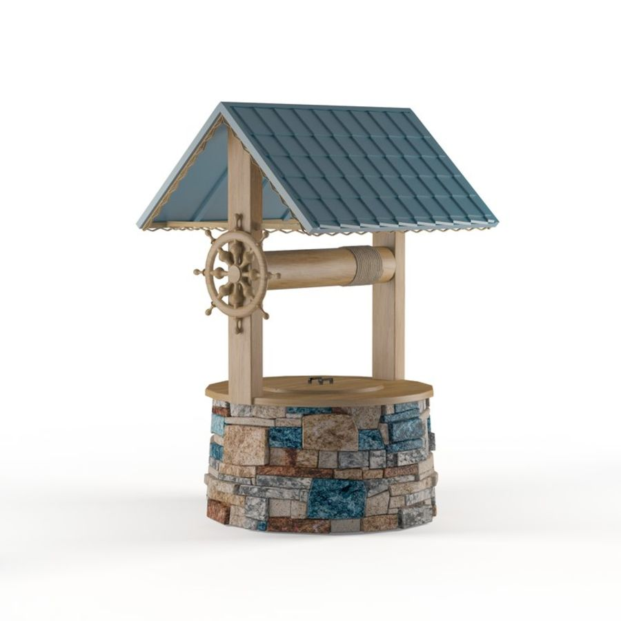 Water well magic royalty-free 3d model - Preview no. 1