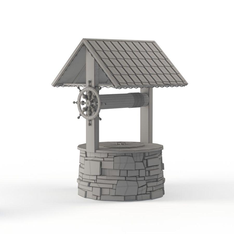 Water well magic royalty-free 3d model - Preview no. 6