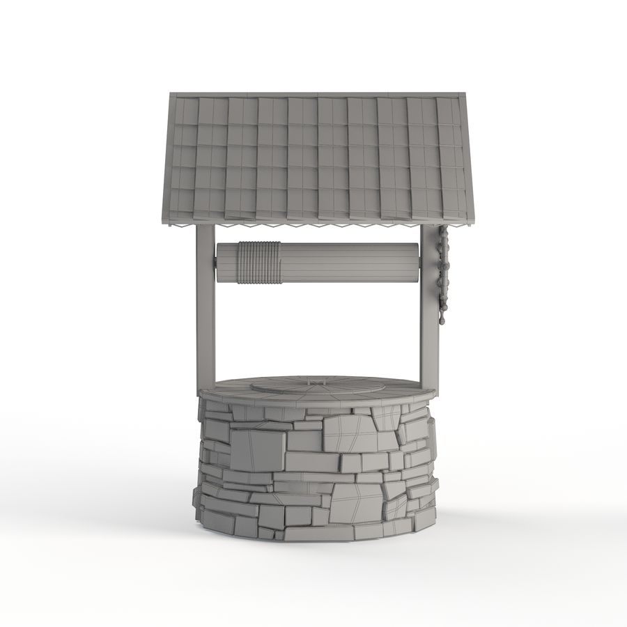 Water well magic royalty-free 3d model - Preview no. 7