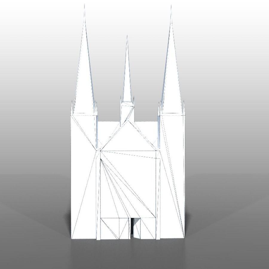 Church v2 royalty-free 3d model - Preview no. 12