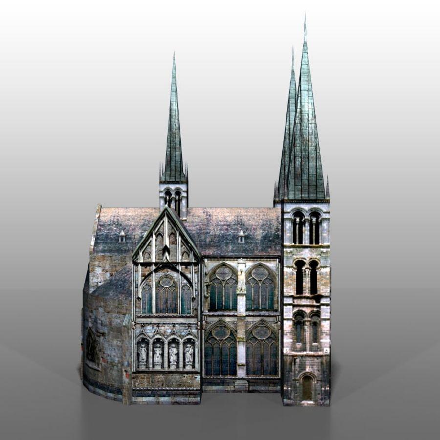 Church v2 royalty-free 3d model - Preview no. 2