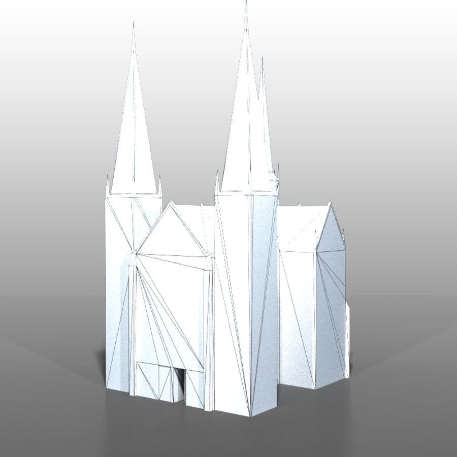 Church v2 royalty-free 3d model - Preview no. 7