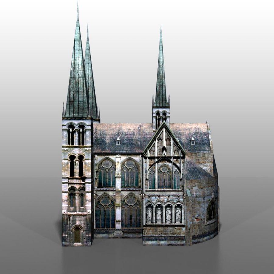Church v2 royalty-free 3d model - Preview no. 5