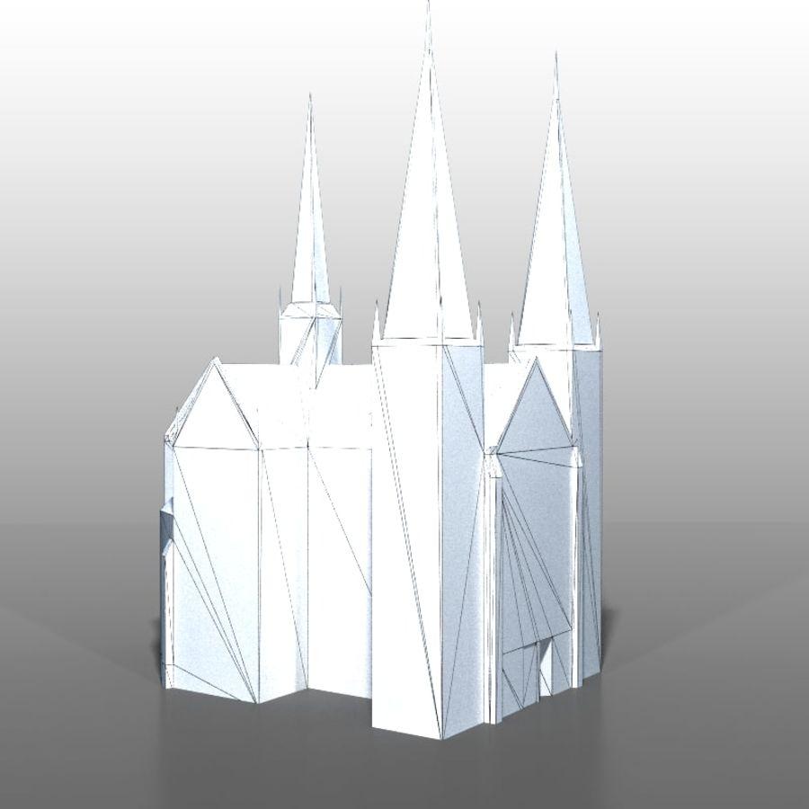Church v2 royalty-free 3d model - Preview no. 8