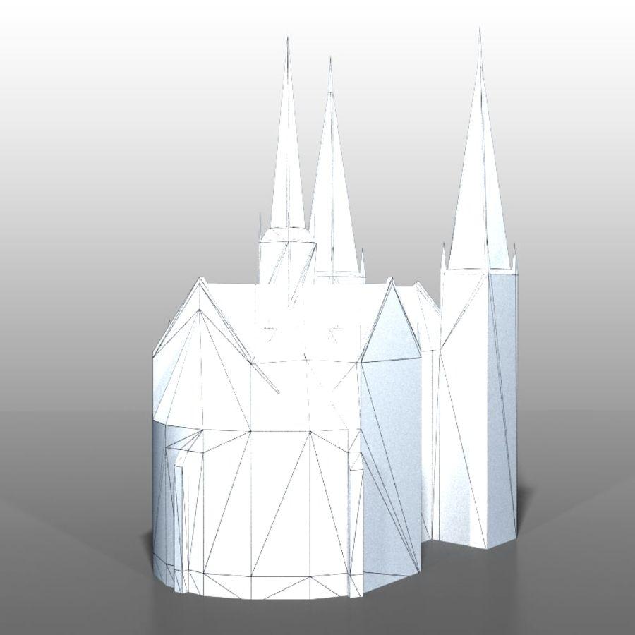 Church v2 royalty-free 3d model - Preview no. 9