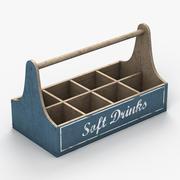 Drinks Crate 3d model