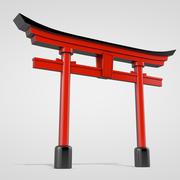 Torii Gate 3d model