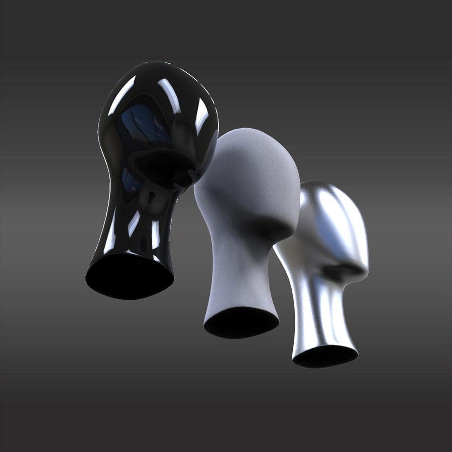 3 Display Head Stand 3D Model $19 -  c4d  max  obj  fbx  3ds - Free3D
