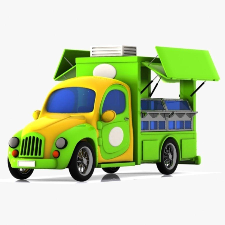 cartoon car 3d model free download