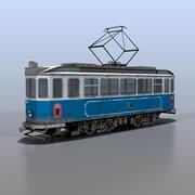 трамвай 3d model