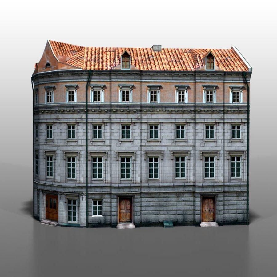 Polish house v9 royalty-free 3d model - Preview no. 3