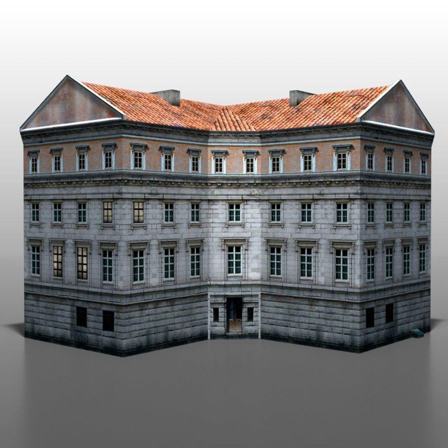 Polish house v9 royalty-free 3d model - Preview no. 5