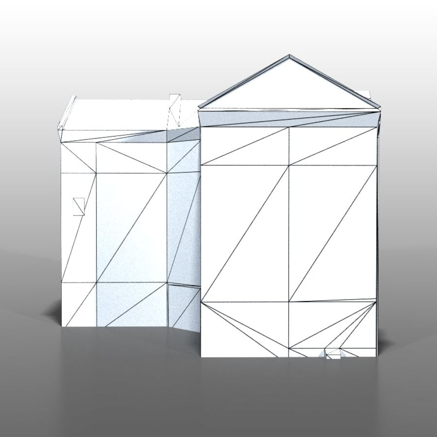 Polish house v9 royalty-free 3d model - Preview no. 12