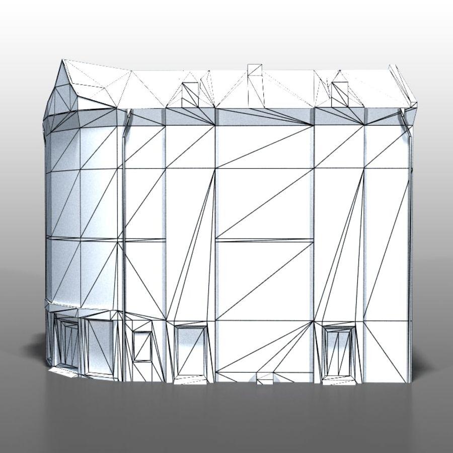 Polish house v9 royalty-free 3d model - Preview no. 9