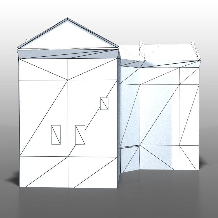 Polish house v9 royalty-free 3d model - Preview no. 10