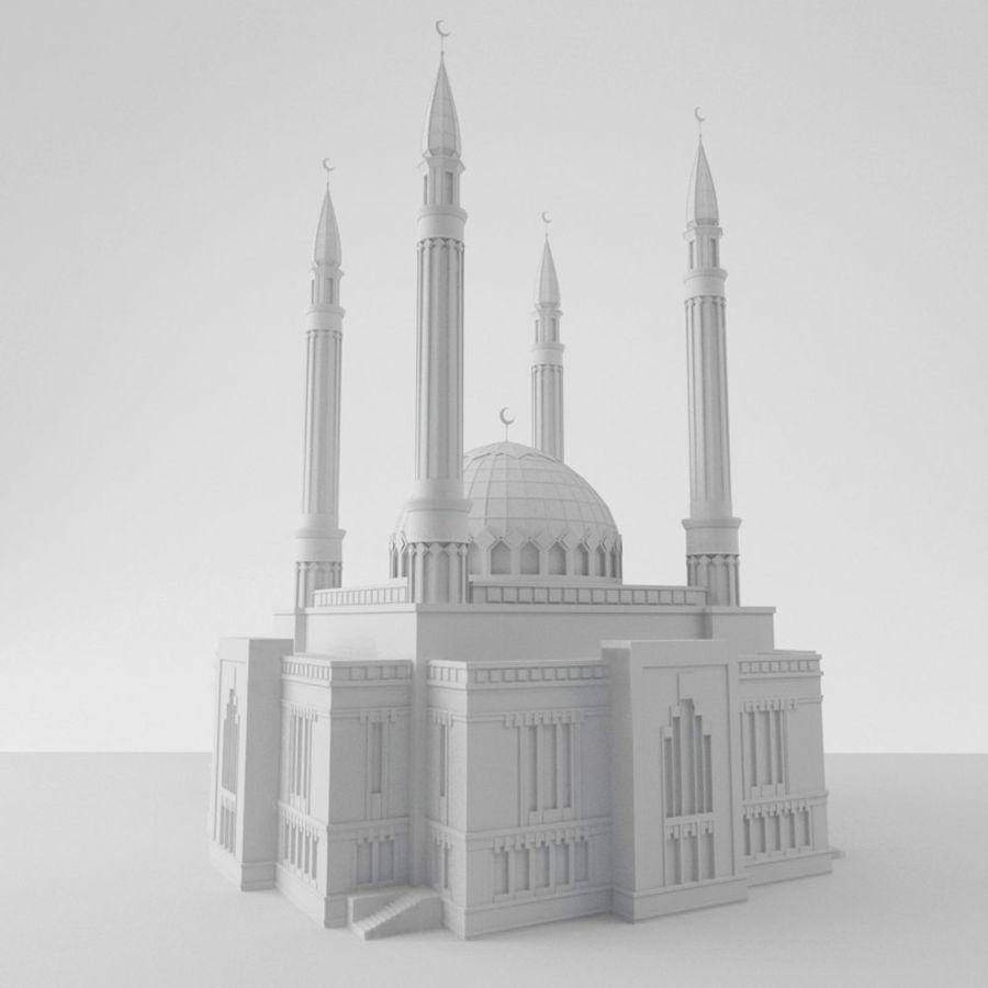 Mosque 3D Model $15 -  obj  fbx  3ds  c4d - Free3D