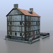 German house v18 3d model