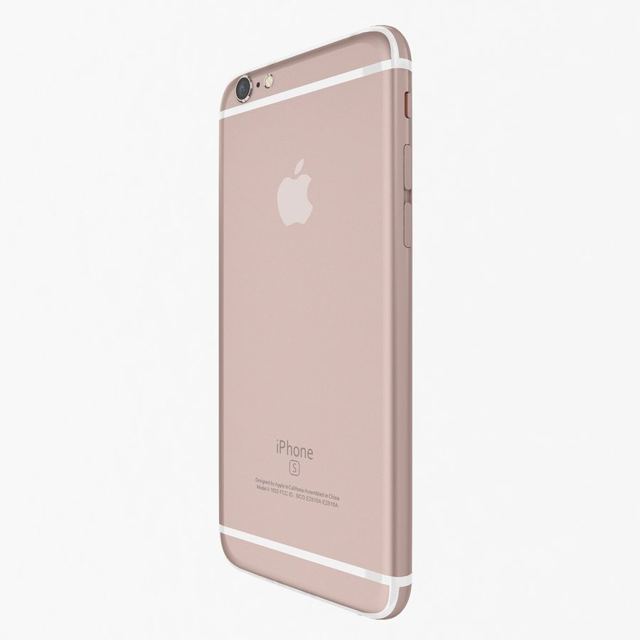 Apple iPhone 6s Flagship Smartphone 2015 royalty-free 3d model - Preview no. 19