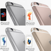 Apple iPhone 6s Flagship Smartphone 2015 3d model