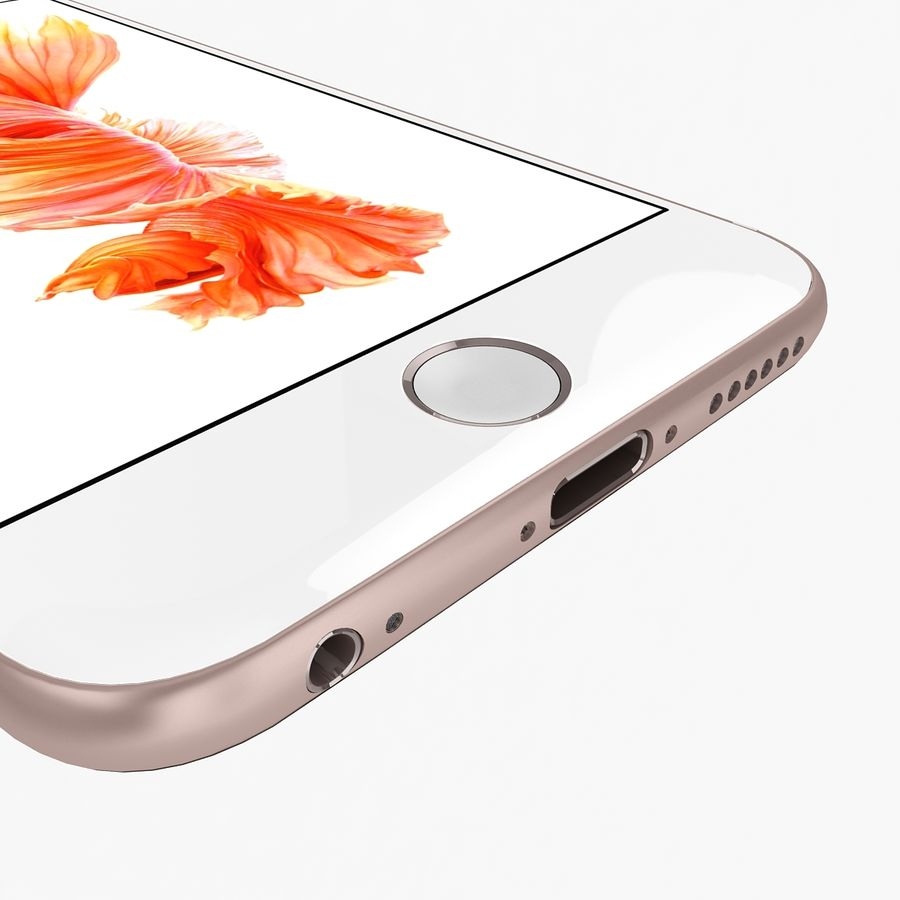 Apple iPhone 6s Flagship Smartphone 2015 royalty-free 3d model - Preview no. 22