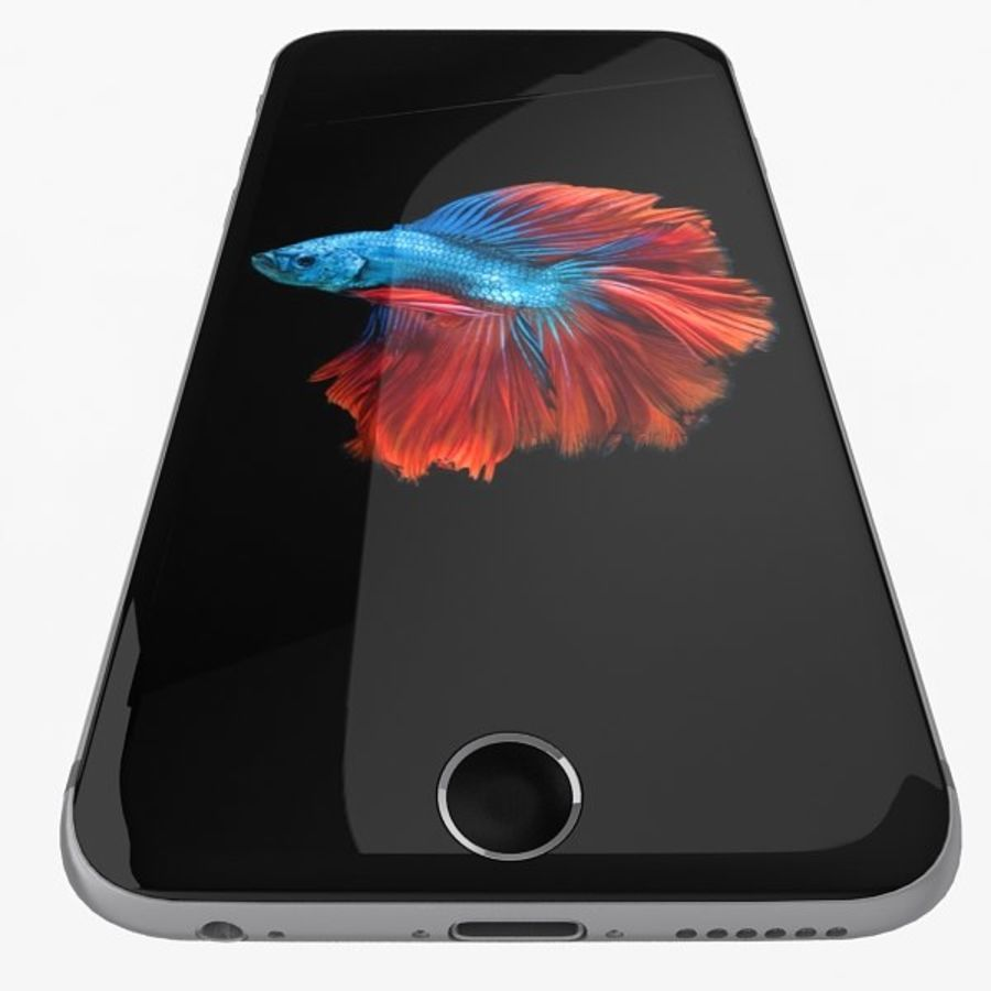 Apple iPhone 6s Flagship Smartphone 2015 royalty-free 3d model - Preview no. 40