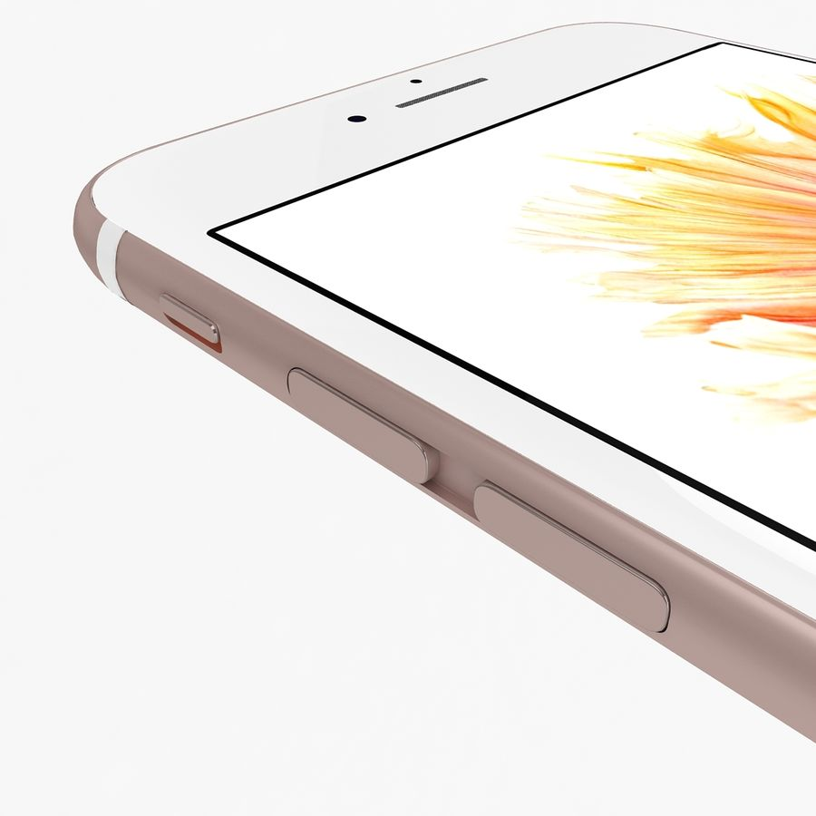 Apple iPhone 6s Flagship Smartphone 2015 royalty-free 3d model - Preview no. 23
