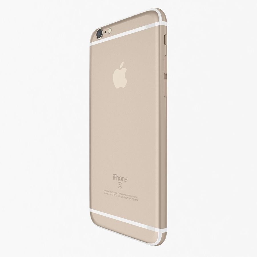 Apple iPhone 6s Flagship Smartphone 2015 royalty-free 3d model - Preview no. 9