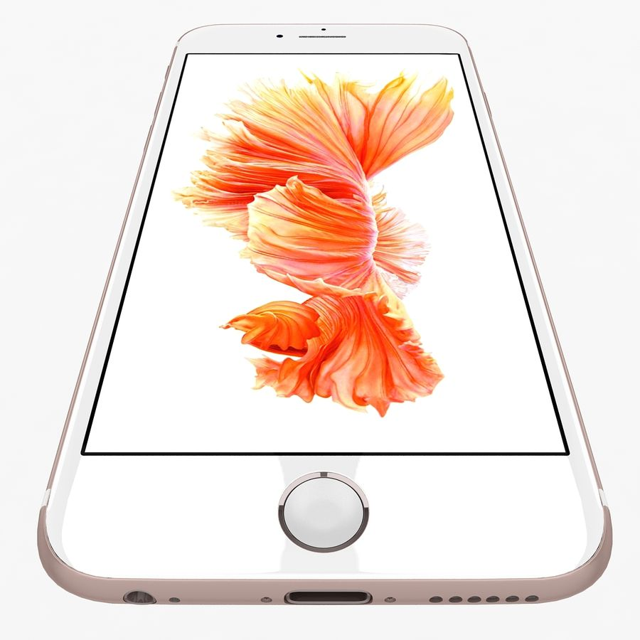 Apple iPhone 6s Flagship Smartphone 2015 royalty-free 3d model - Preview no. 21
