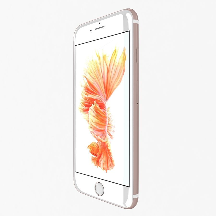 Apple iPhone 6s Flagship Smartphone 2015 royalty-free 3d model - Preview no. 17