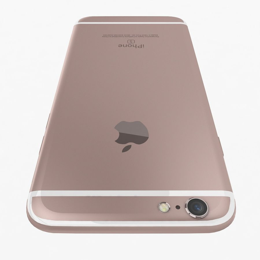 Apple iPhone 6s Flagship Smartphone 2015 royalty-free 3d model - Preview no. 20