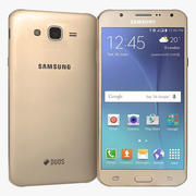Samsung Galaxy J7 Gold 3d model