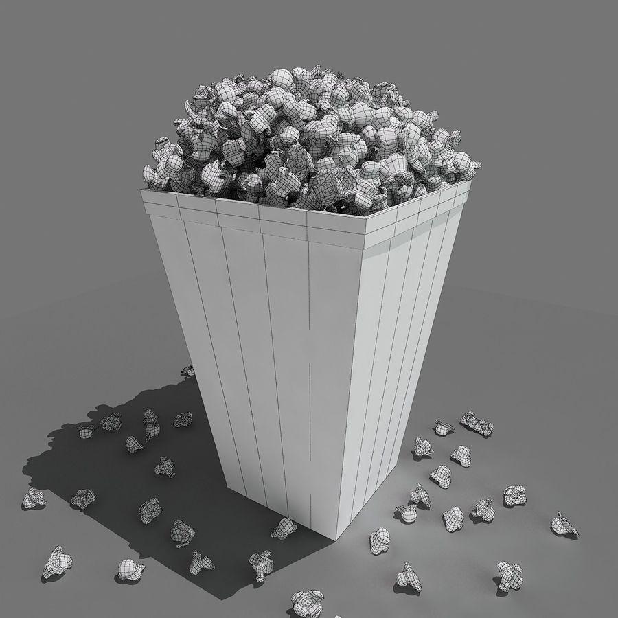 Popcorn_3dsmax royalty-free modelo 3d - Preview no. 7