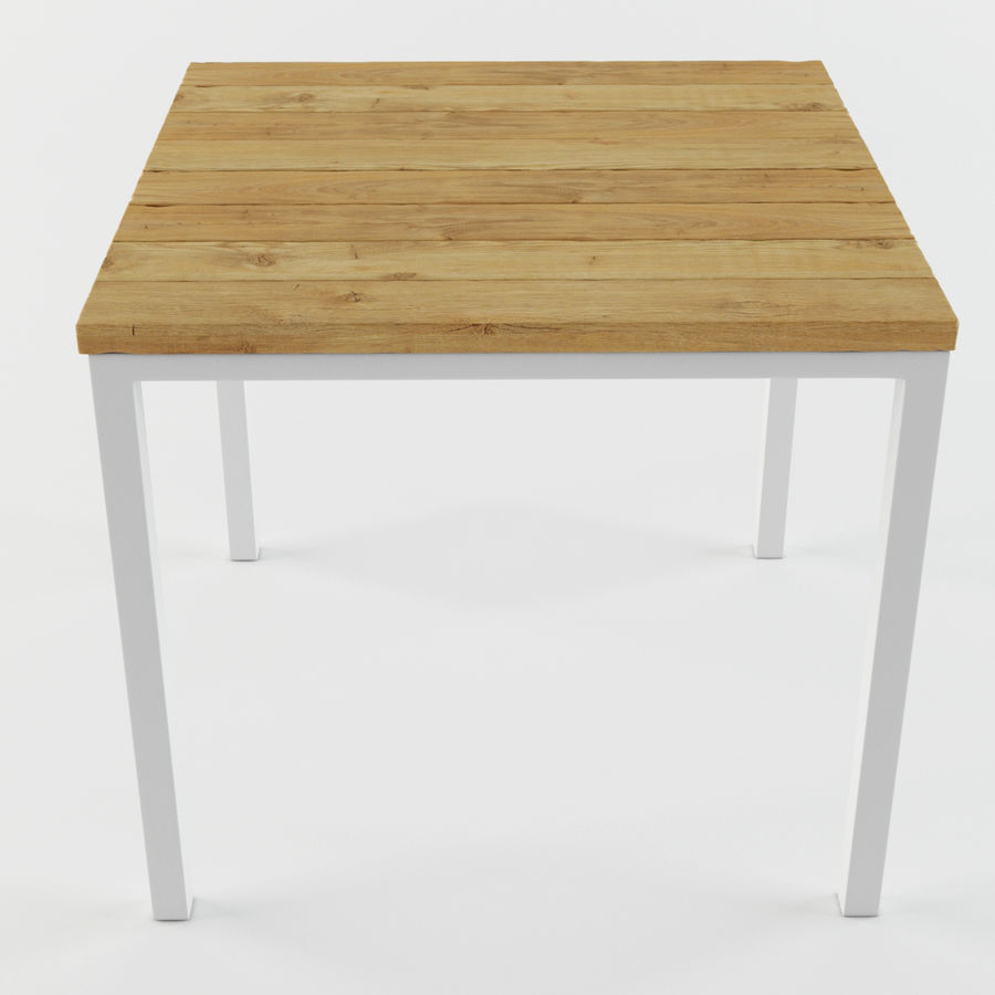 Träbord royalty-free 3d model - Preview no. 3