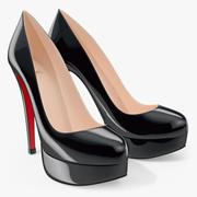 Shoes Louboutin Bianca 3d model