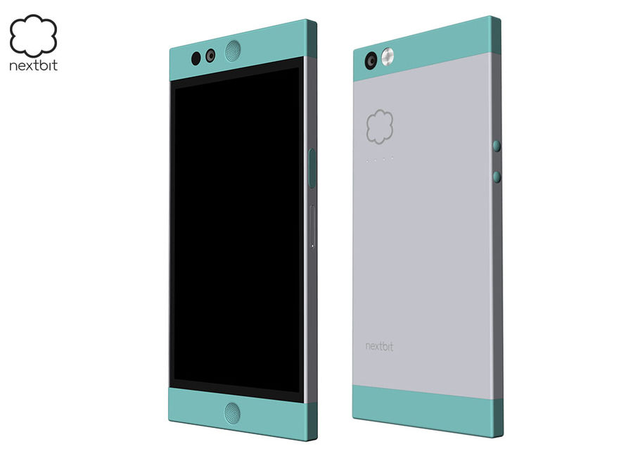 Nextbit Robin-smartphone (+ NURBS) royalty-free 3d model - Preview no. 3