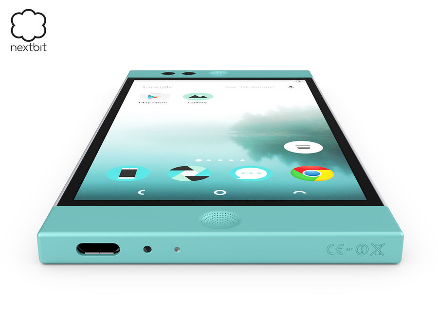 Nextbit Robin-smartphone (+ NURBS) royalty-free 3d model - Preview no. 8