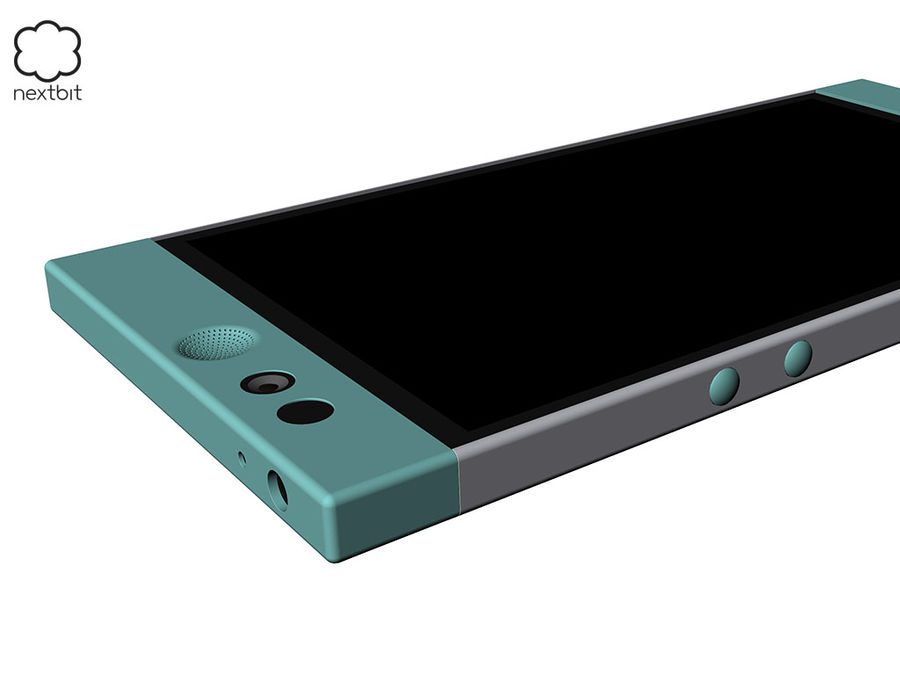 Nextbit Robin-smartphone (+ NURBS) royalty-free 3d model - Preview no. 9