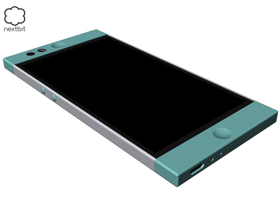 Nextbit Robin-smartphone (+ NURBS) royalty-free 3d model - Preview no. 5
