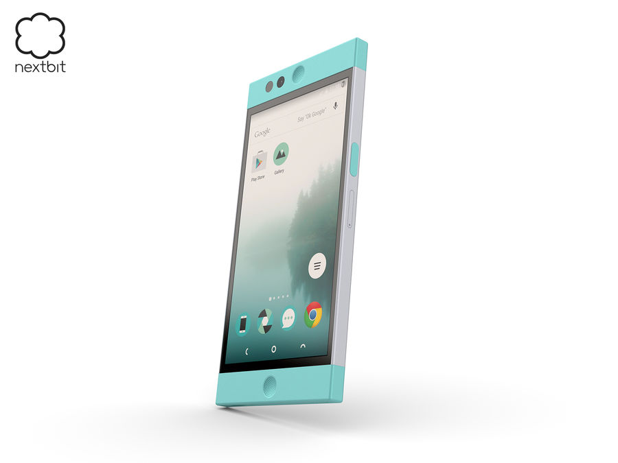 Nextbit Robin-smartphone (+ NURBS) royalty-free 3d model - Preview no. 2