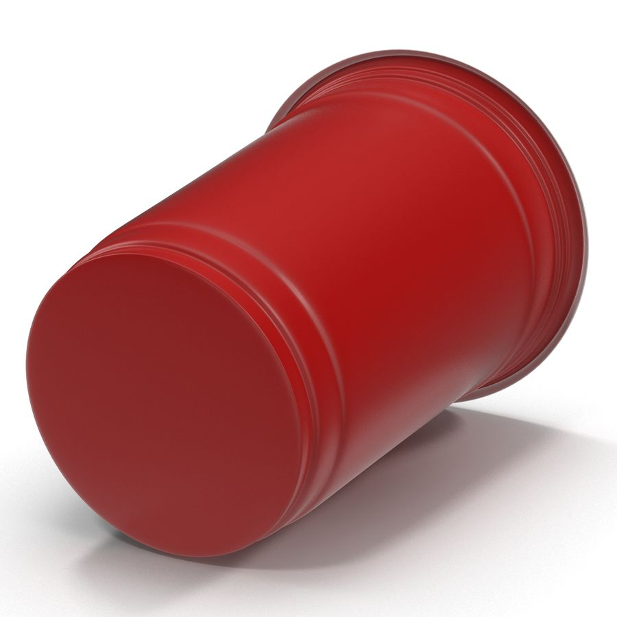 Solo Cup royalty-free 3d model - Preview no. 6