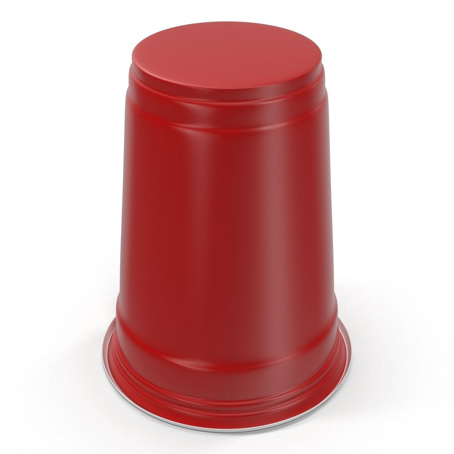 Solo Cup royalty-free 3d model - Preview no. 10
