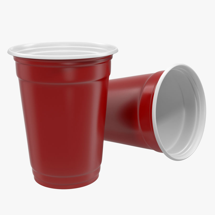 Solo Cup royalty-free 3d model - Preview no. 1