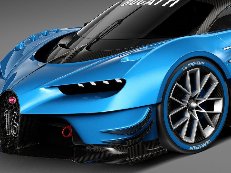 Bugatti Vision Chiron Race Car 2017 3D Model $199 - .obj .max .lwo on lightning paint job corvette, lightning man, lightning ford,