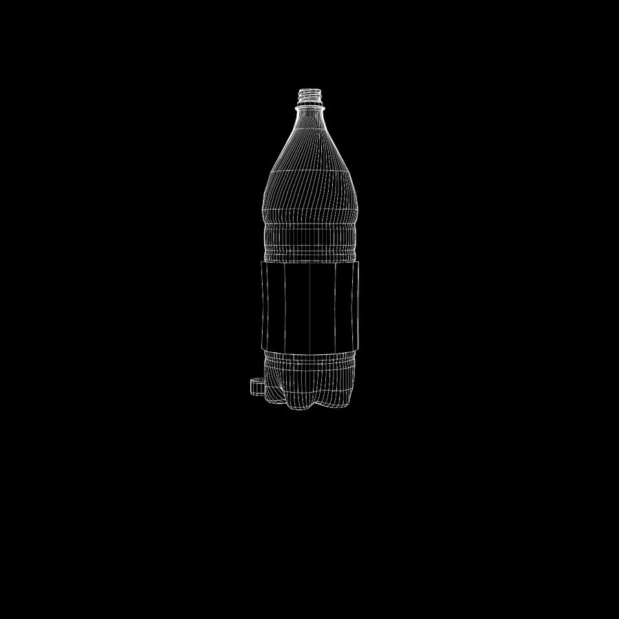 Plastic Bottle royalty-free 3d model - Preview no. 17