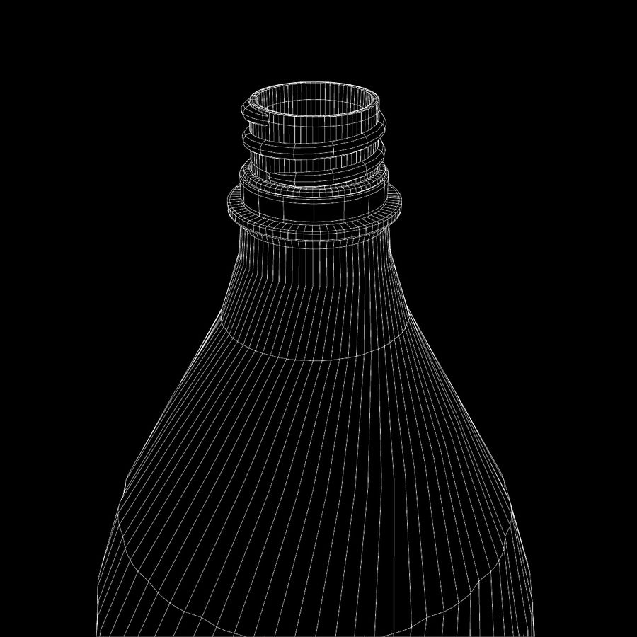 Plastic Bottle royalty-free 3d model - Preview no. 13