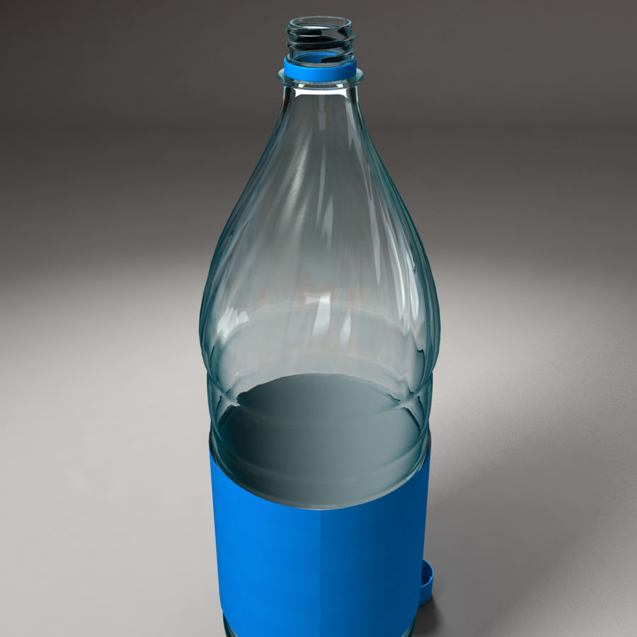 Plastic Bottle royalty-free 3d model - Preview no. 5