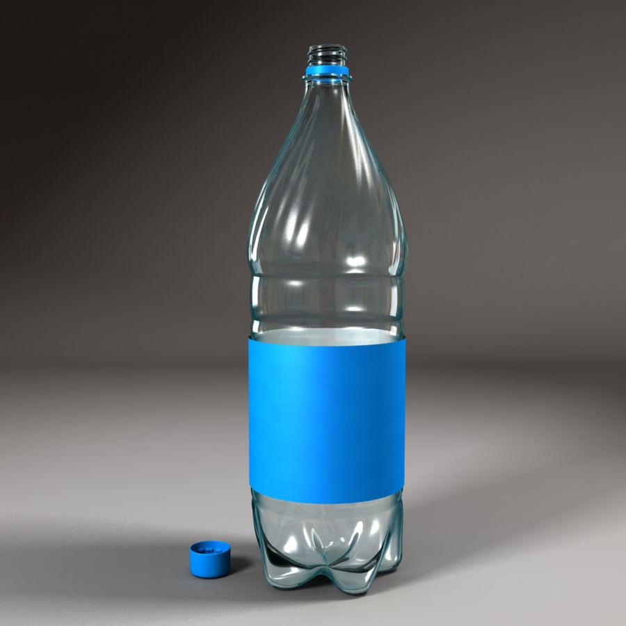 Plastic Bottle royalty-free 3d model - Preview no. 1