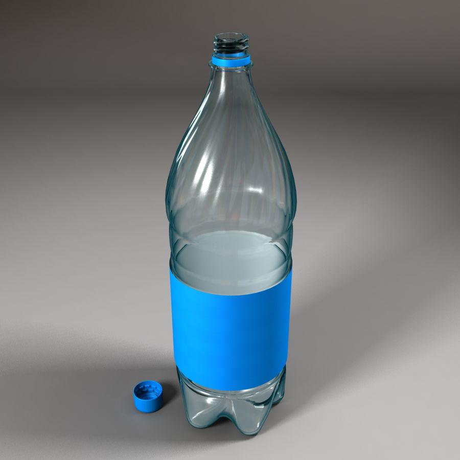 Plastic Bottle royalty-free 3d model - Preview no. 7
