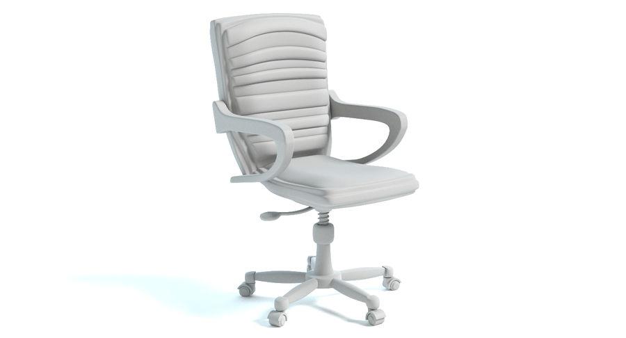 Chaise de bureau royalty-free 3d model - Preview no. 5