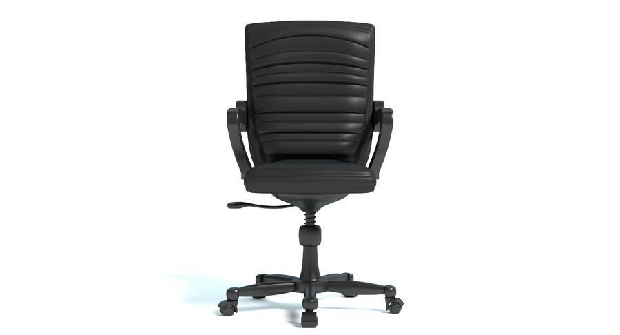 Chaise de bureau royalty-free 3d model - Preview no. 4